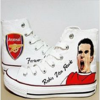 Robin van Persie Handpainted Shoes
